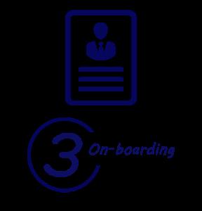On-boarding